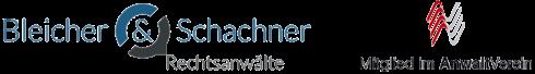 Rechtsanwälte Bleicher und Schachner Logo